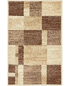 Bridgeport Home Jasia Jas14 Beige 2' x 3' Area Rug