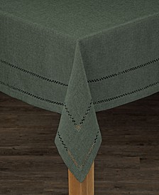 Hemstitch Polyester Tablecloth