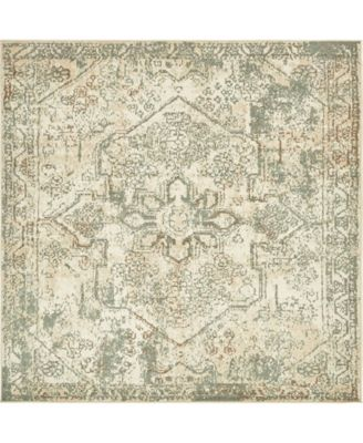 Tabert Tab6 Ivory 8' x 8' Square Area Rug