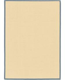 Bridgeport Home Bound Sisal Bds1 Cream/Gray 7' x 10' Area Rug