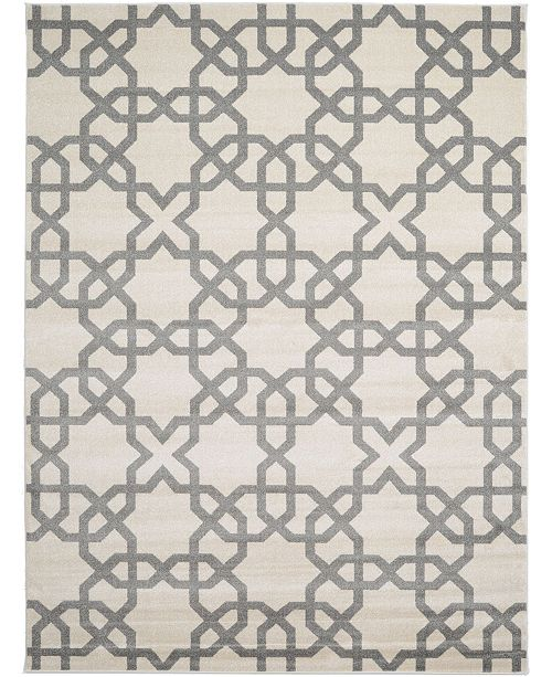 Bridgeport Home Arbor Arb5 Beige/Gray 9' x 12' Area Rug