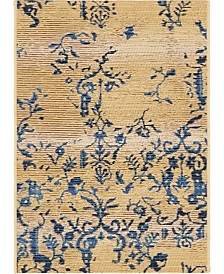 "Bridgeport Home Pashio Pas2 Beige 2' 2"" x 3' Area Rug"