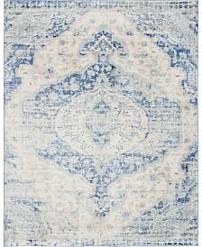 Bridgeport Home Agostina Ago2 Blue 8' x 10' Area Rug
