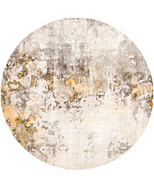 Haven Hav1 Beige 8' x 8' Round Area Rug