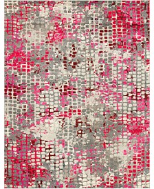 Bridgeport Home Crisanta Crs4 Pink 8' x 10' Area Rug