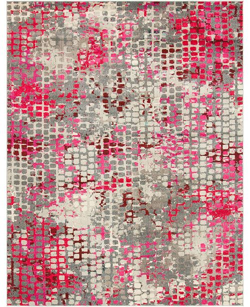 Bridgeport Home Crisanta Crs4 Pink 8' x 10' Area Rug