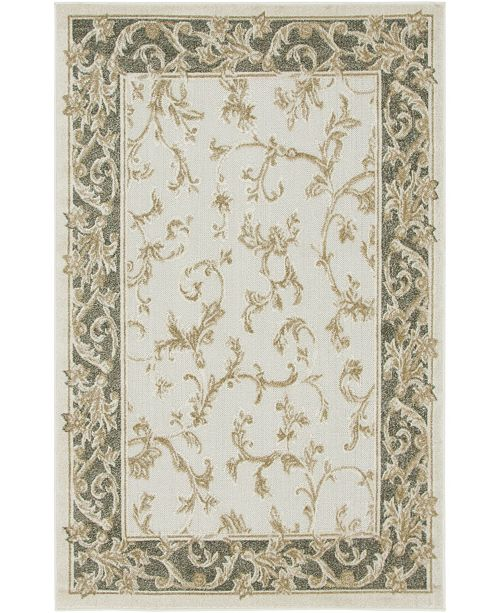 Bridgeport Home Pashio Pas4 Beige/Tan 4' x 6' Area Rug