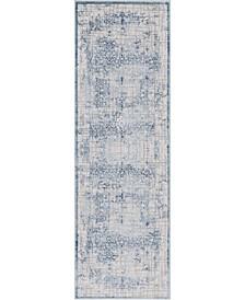 """Aitana Ait2 Blue 2' 7"""" x 8' 2"""" Area Rug"""