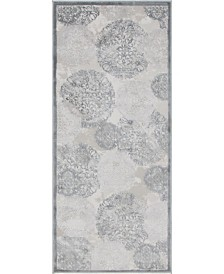 "Bridgeport Home Aitana Ait3 Gray 2' 7"" x 6' Area Rug"
