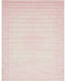 Mobley Mob1 Pink 8' x 10' Area Rug