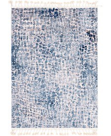"Bridgeport Home Levia Lev3 Blue 4' 5"" x 6' 3"" Area Rug"