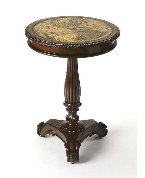 Butler Specialty Butler Cortes Etched Brass Table
