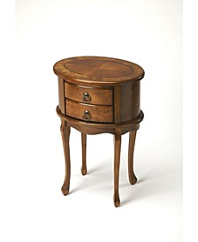 Butler Whitley Burl Side Table
