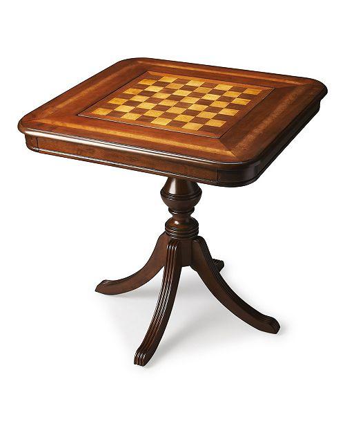 Butler Specialty Butler Morphy Cherry Game Table
