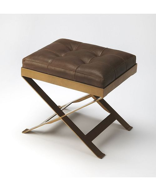 Butler Specialty Butler Rodrigo Leather Stool