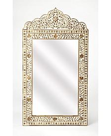 Butler Vivienne Wood and Bone Mirror