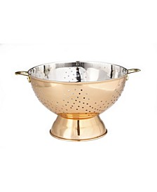 International Decor Copper Footed Colander and Centerpiece