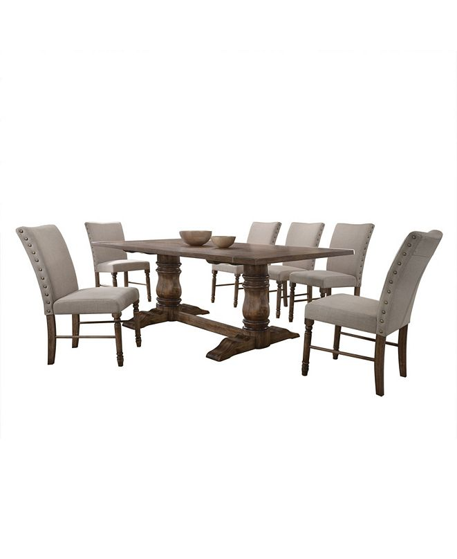 Acme Furniture Leventis Side Dining Chair, Set of 2