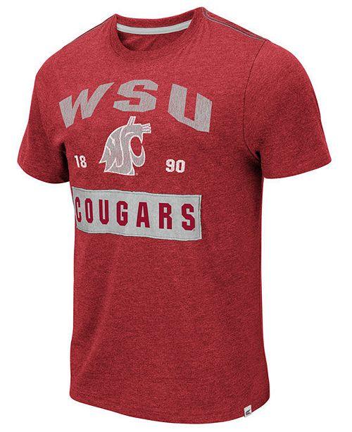 Colosseum Men's Washington State Cougars Team Patch T-Shirt