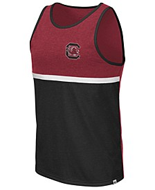 Men's South Carolina Gamecocks Color Blocked Tank