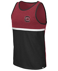 Colosseum Men's South Carolina Gamecocks Color Blocked Tank