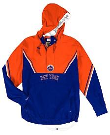 Mitchell & Ness Men's New York Mets Anorak Half-Zip Pullover
