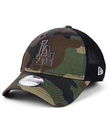 New Era Los Angeles Dodgers Camo Trucker 39THIRTY Cap