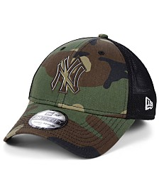 New Era New York Yankees Camo Trucker 39THIRTY Cap