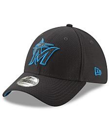 New Era Miami Marlins Graphite Pop 39THIRTY Cap