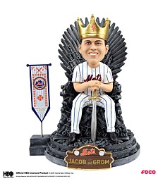 Forever Collectibles Jacob Degrom New York Mets Game Of Thrones Iron Throne Bobblehead