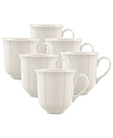 Manoir Mugs, Set of 6