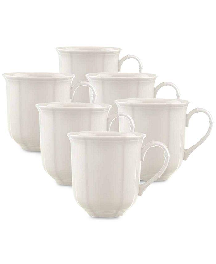 Villeroy & Boch - Manoir Mugs, Set of 6