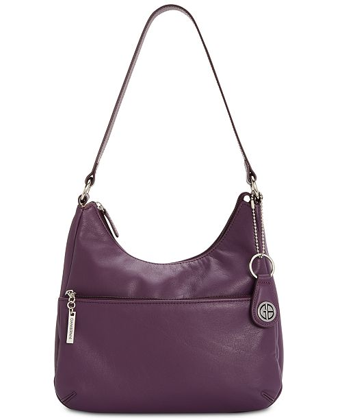 Giani Bernini Na Leather Hobo Bag