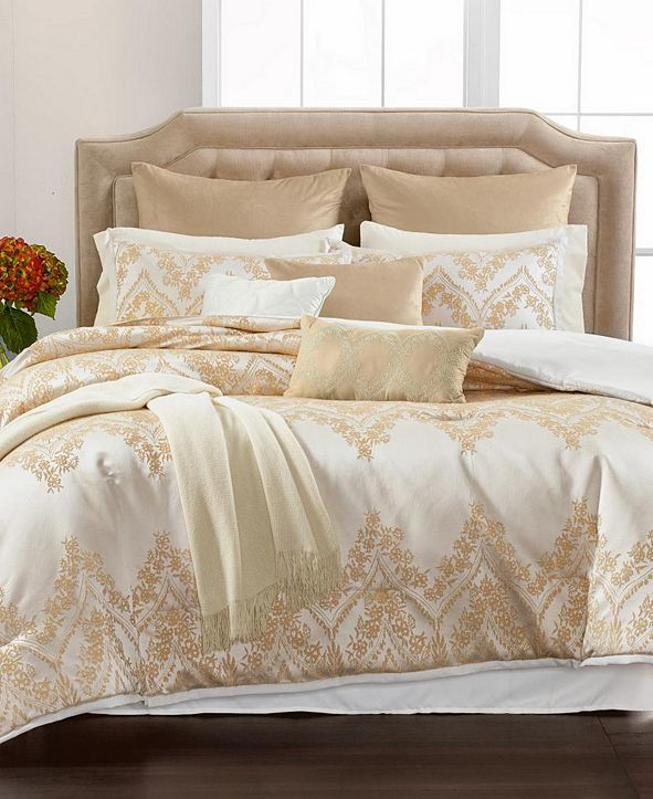 Martha Stewart Collection CLOSEOUT! Ornate Arches 14-Pc. Queen Comforter Set, Created for Macy's