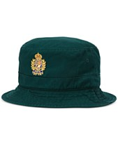 14c7801c Polo Ralph Lauren Men's Logo Crest Bucket Hat