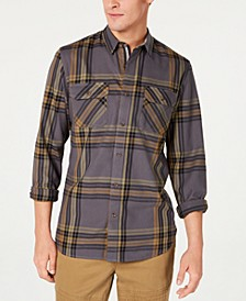 Men's Kane Plaid Shirt, Created for Macy's