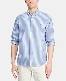 Men's Classic Fit Stripe Oxford Shirt