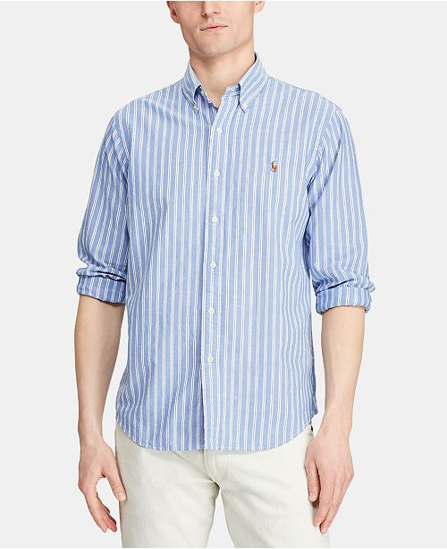 Polo Ralph Lauren Men's Classic Fit Stripe Oxford Shirt