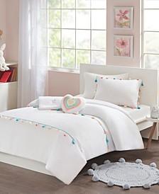 Tessa 4-Pc. Tassel Comforter Sets