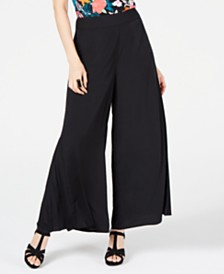 Thalia Sodi Pleated Wide-Leg Pants, Created for Macy's