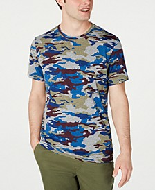 Men's Multi-Color Camo T-Shirt, Created for Macy's