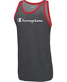 Champion Men's Logo Ringer Tank Top