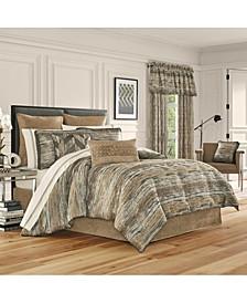 J Queen Sunrise Gold Queen Comforter Set