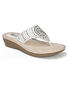 Cliffs by White Mountain Cienna Comfort Thong Sandals