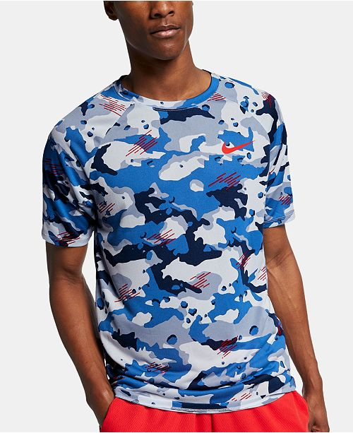 Nike Men's Dry Legend Camo-Print T-Shirt