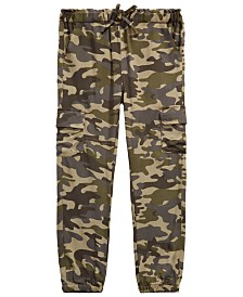 Epic Threads Little Girls Camo-Print Cargo Jogger Pants, Created for Macy's