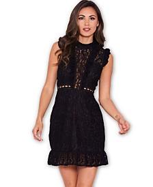 AX Paris Lace Frill Detail Dress