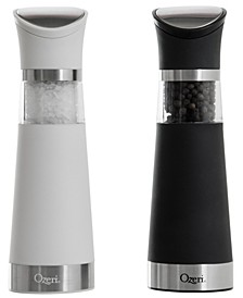 Graviti Pro BPA-Free Electric Salt and Pepper Grinder Set