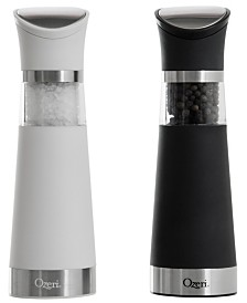 Ozeri Graviti Pro BPA-Free Electric Salt and Pepper Grinder Set