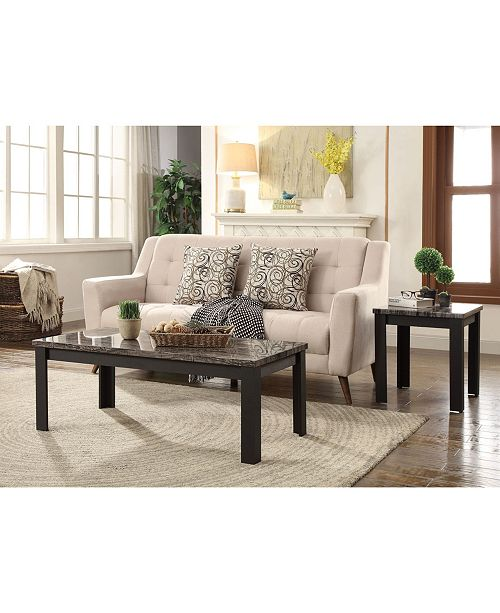 Acme Furniture Arabia 2-Piece Coffee-End Table Set